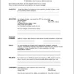 free pdf resume template free samples examples amp format resume