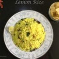 Lemon Rice Recipe (South Indian Style)