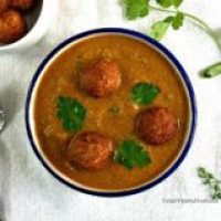 Lauki Kofta Curry/Bottlegourd (Indian Squash) Kofta Curry Recipe