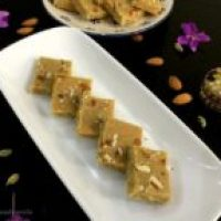 Easy Horlicks Milk Powder Burfi/Fudge