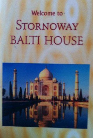 stornoway balti review