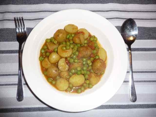 eenvoudige curry