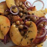 kikkererwten perziksalade