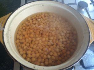kikkererwten koken