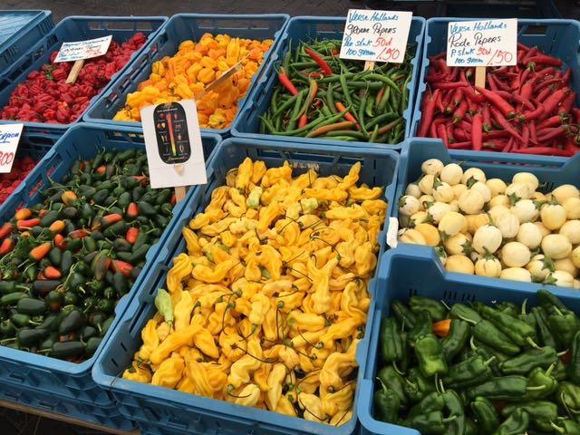 Aziatische groenten pepers