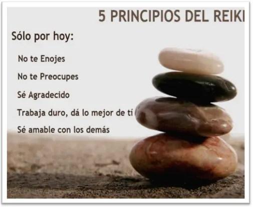 Cinco Principios De Reiki