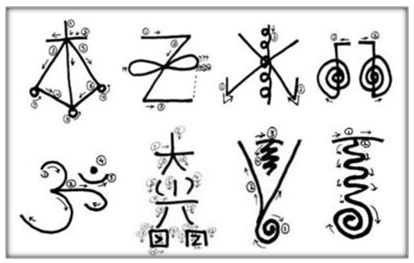 Simbolos Maestria Reiki