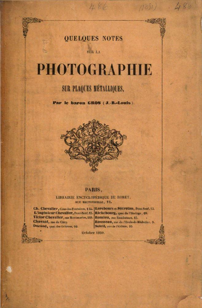 Daguerreotype : historical manuals