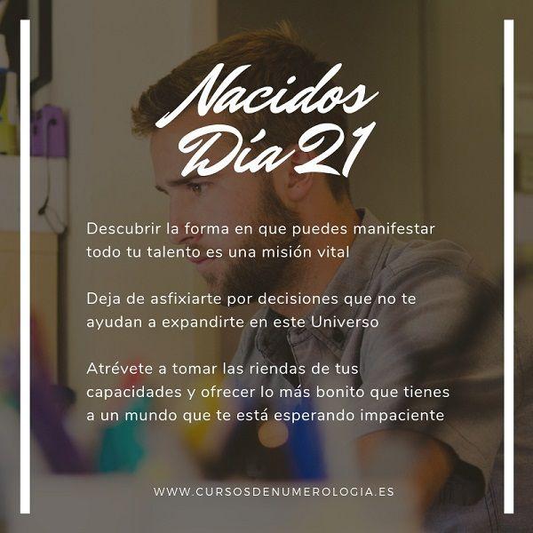 nacer un día 21