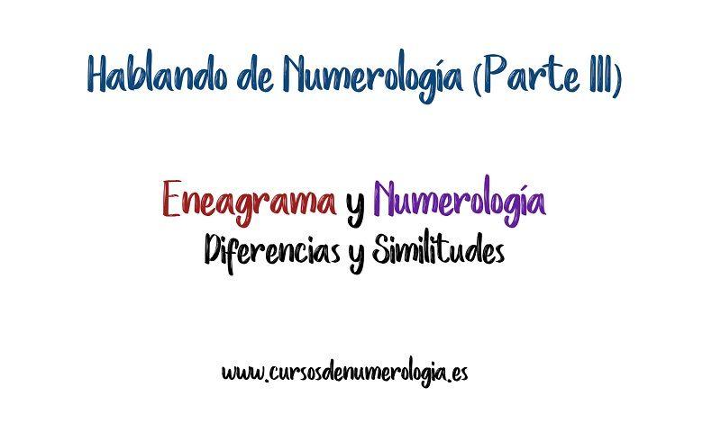 Eneagrama y Numerología