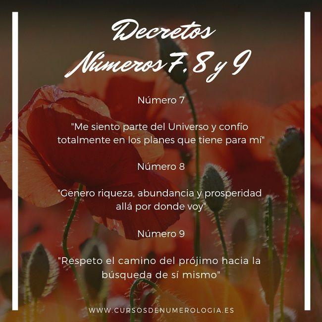 decretos sanadores