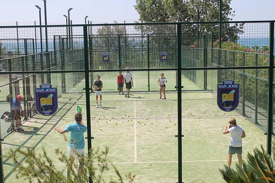 cursos verano inglés y deporte Colegio San José