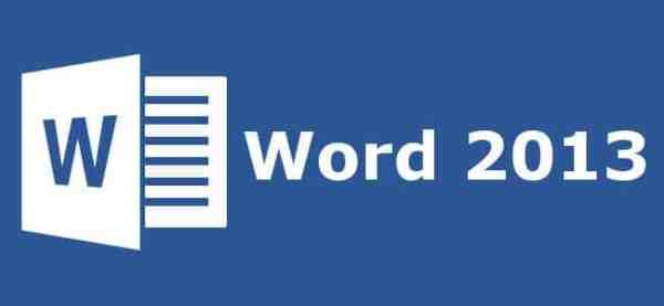 Word 2013 online