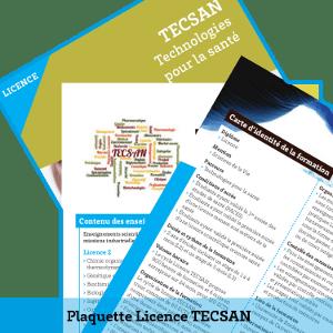 Plaquette Licence TECSAN