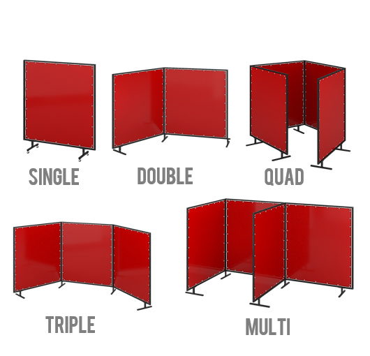 industrial room dividers partitions