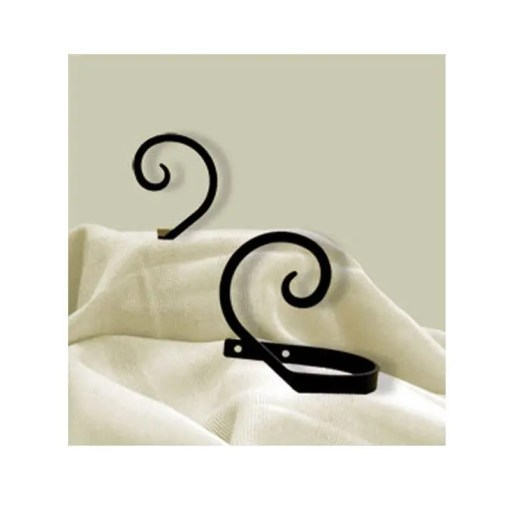 Scroll Curtain Tie Backs