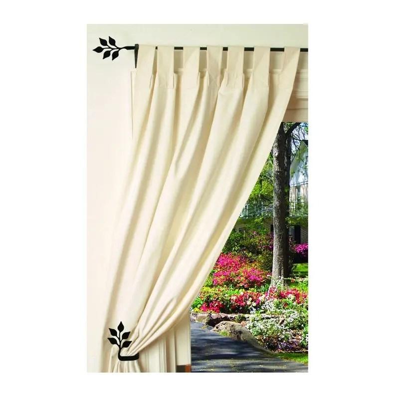 Leaf-Curtain-Tie-Backs