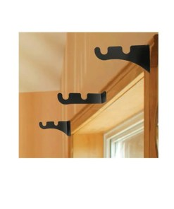 Small Double Curtain Rod Brackets