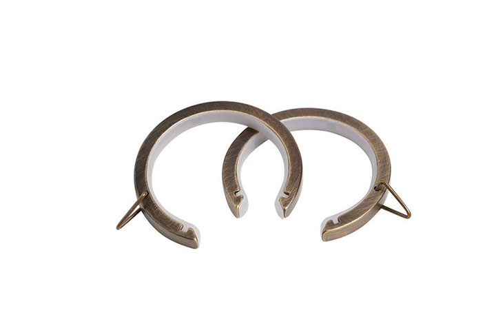 speedy 35mm passing rings antique brass