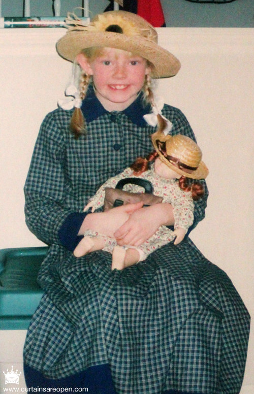 The Tall Blonde of Green Gables. (Couple of years back!)