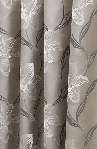 melano silver white curtain fabric from curtainscurtainscurtains
