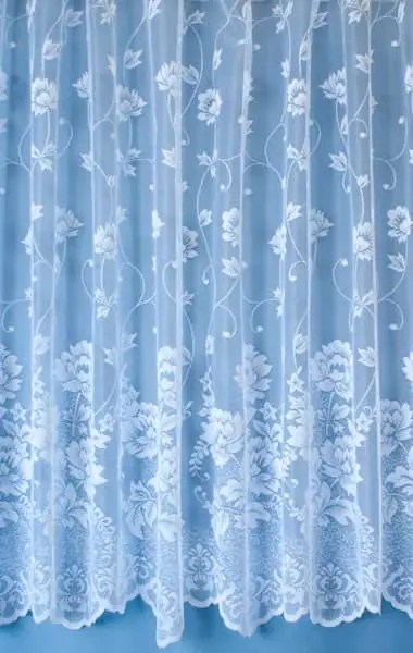 Foxley White Net Curtains