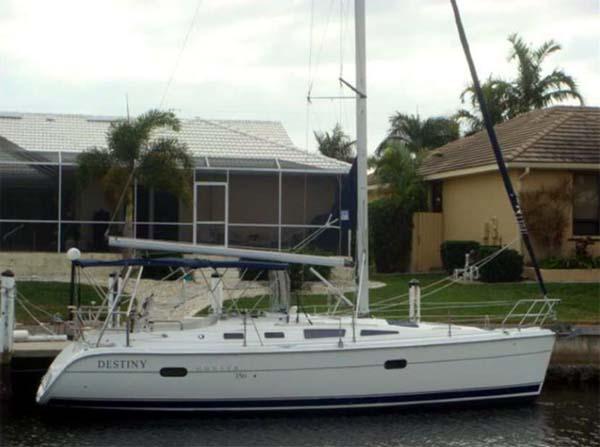Curtis Stokes Yacht Brokerage Hunter 35 Sailing Yacht Destiny