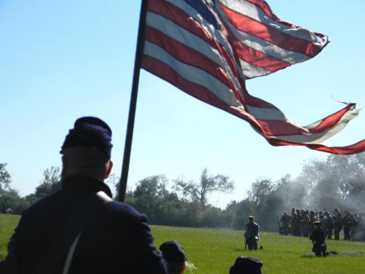 The fight for Old Glory