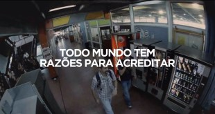 Câmeras de segurança - campanha da Coca-Cola