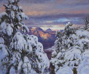 Evening of the First Snow