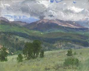 Mt. Blanca from Forbes Trinchera Ranch