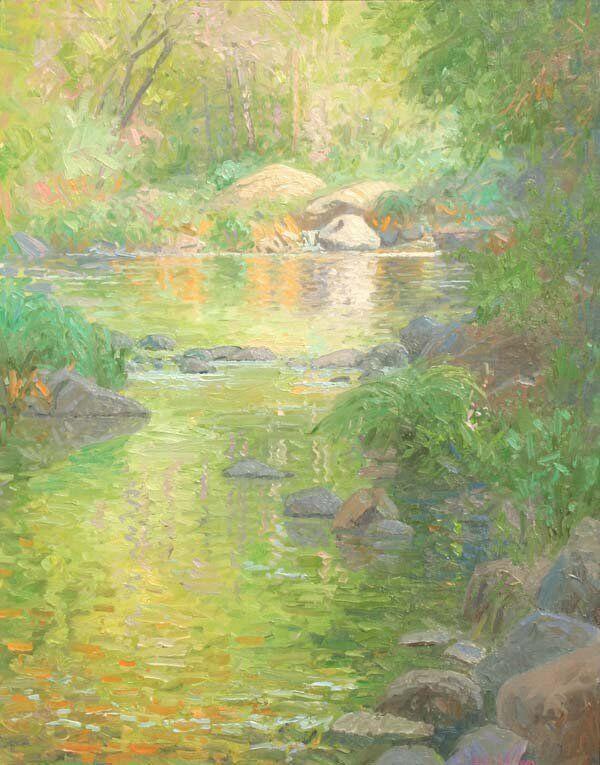 Summer Waters of Oak Creek