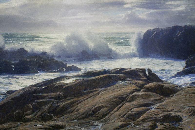 Breaking Surf: Point Lobos