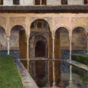 Courtyard of the Myrtles, The Alhambra