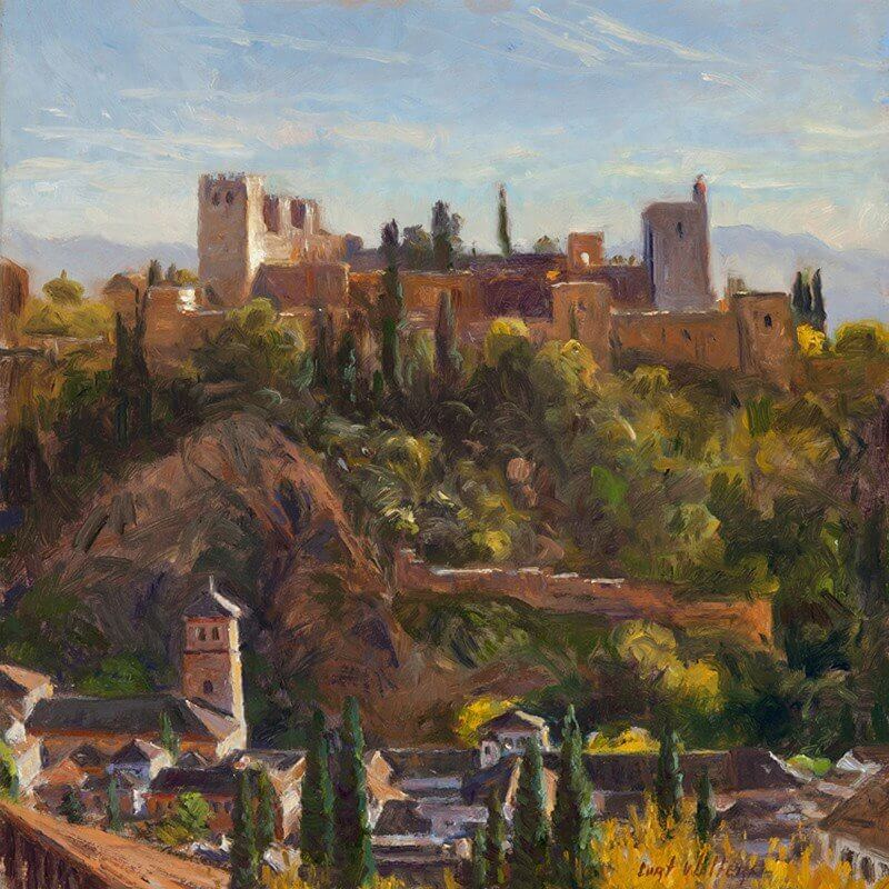 The Alhambra from San Nicolas