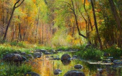 November Color: Oak Creek Canyon
