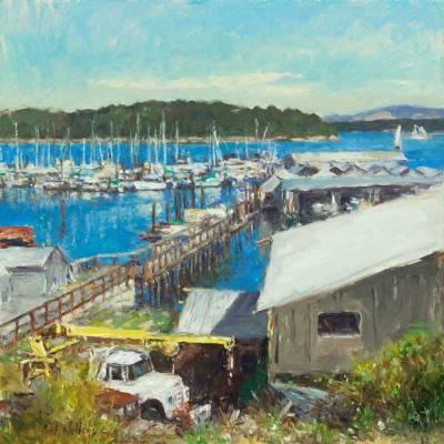 Jensen Boat Yard by Curt Walters