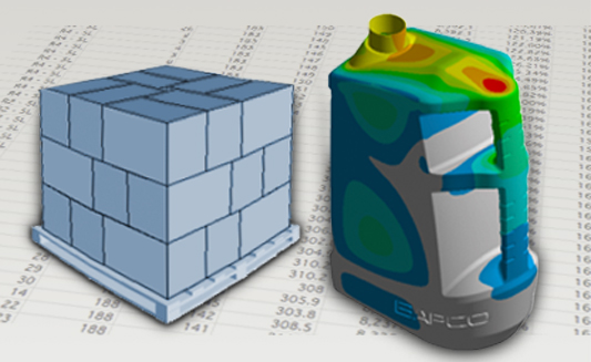FEA analysis & palletisation efficiency
