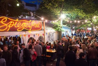 Brighton Spiegeltent with high-speed wifi from Curve IT