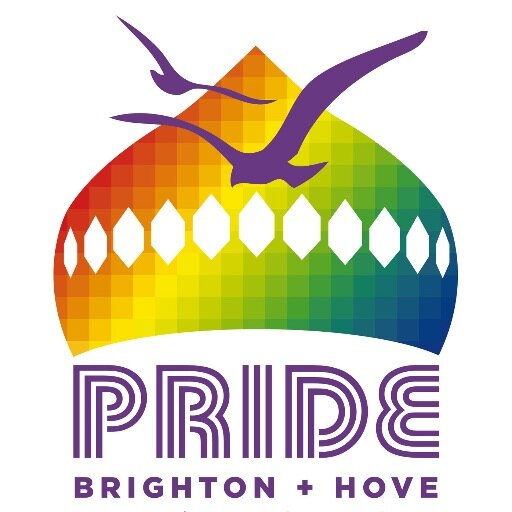 Brighton Pride logo - events wifi