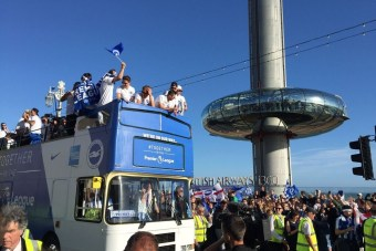 Curve IT install temporary WiFi for the BHAFC promotion parade event