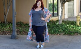 Plus Size Styles For Less Kimono Look