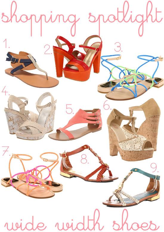 Shopping Spotlight: Wide Width Summer