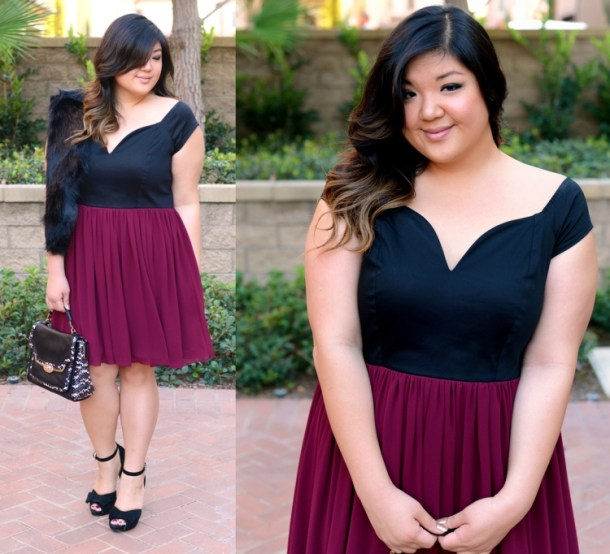 c0622bf741c PARTY TIME! 3 HOLIDAY PARTY OUTFIT IDEAS - Curvy Girl Chic