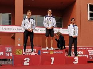 CorriBicocca 2018 - podio maschile