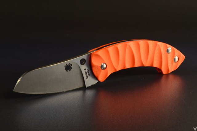"Spyderco Pingo custom scales ""rescue"""