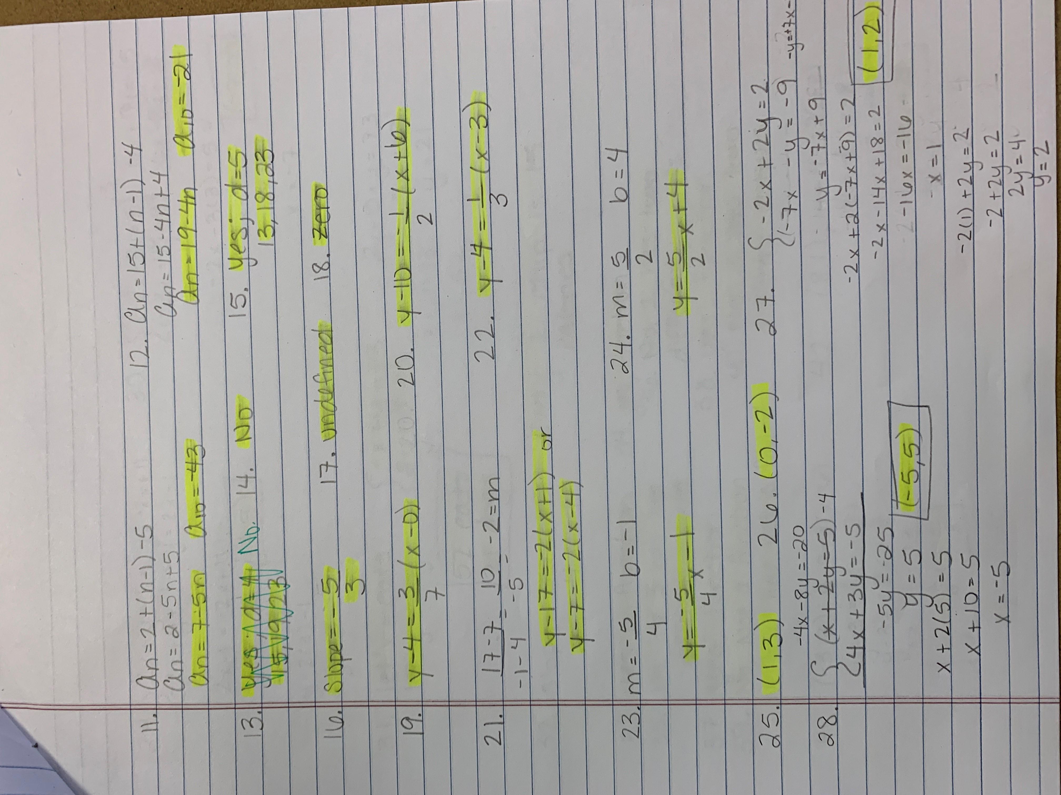 Function Notation Worksheet 2 Answer Key