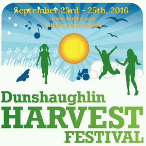 Come and see us at Dunshaughlin Harvest Festival on Saturday 24th September! Details http://dunfest.com/