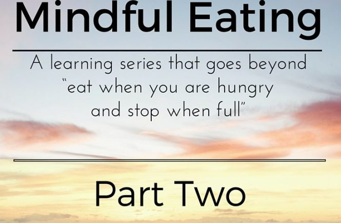 mindful eating sereis