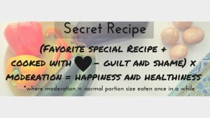 secret ingredient for health